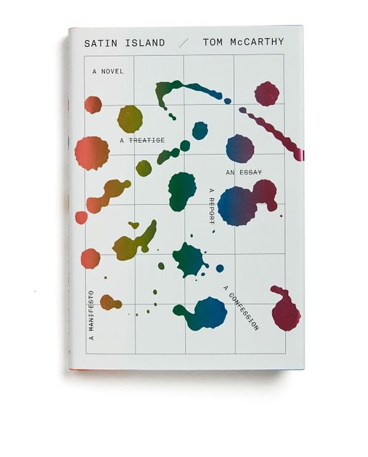 """Satin Island"" by Tom McCarthy, Designed by Peter Mendelsund"