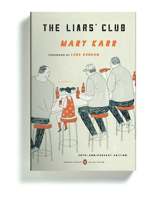 """The Liar's Club"" (20th Anniversary Edition) by Mary Karr, Designed by Paul Buckley"