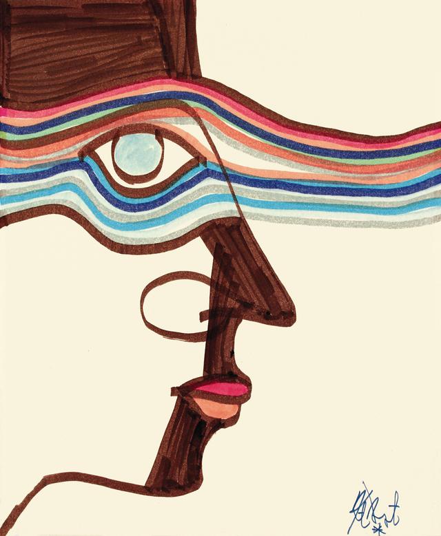 Рисунок Курта Воннегута
