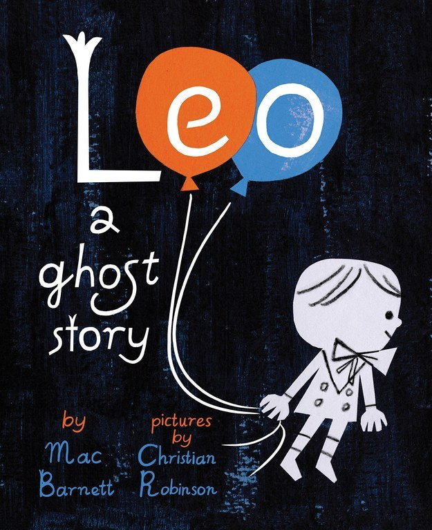 Leo: A Ghost Story illustrated by Christian Robinson